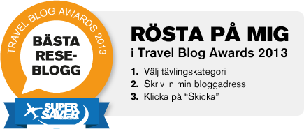 Travel Blog Awards 2013!