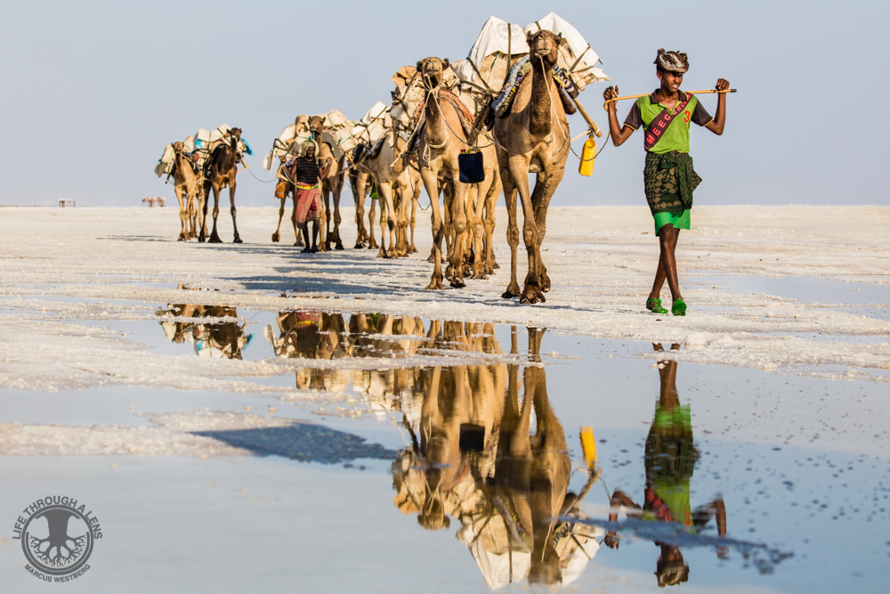 Danakil Depression, Ethiopia. Photographer: Marcus Westberg, Life Through A Lens